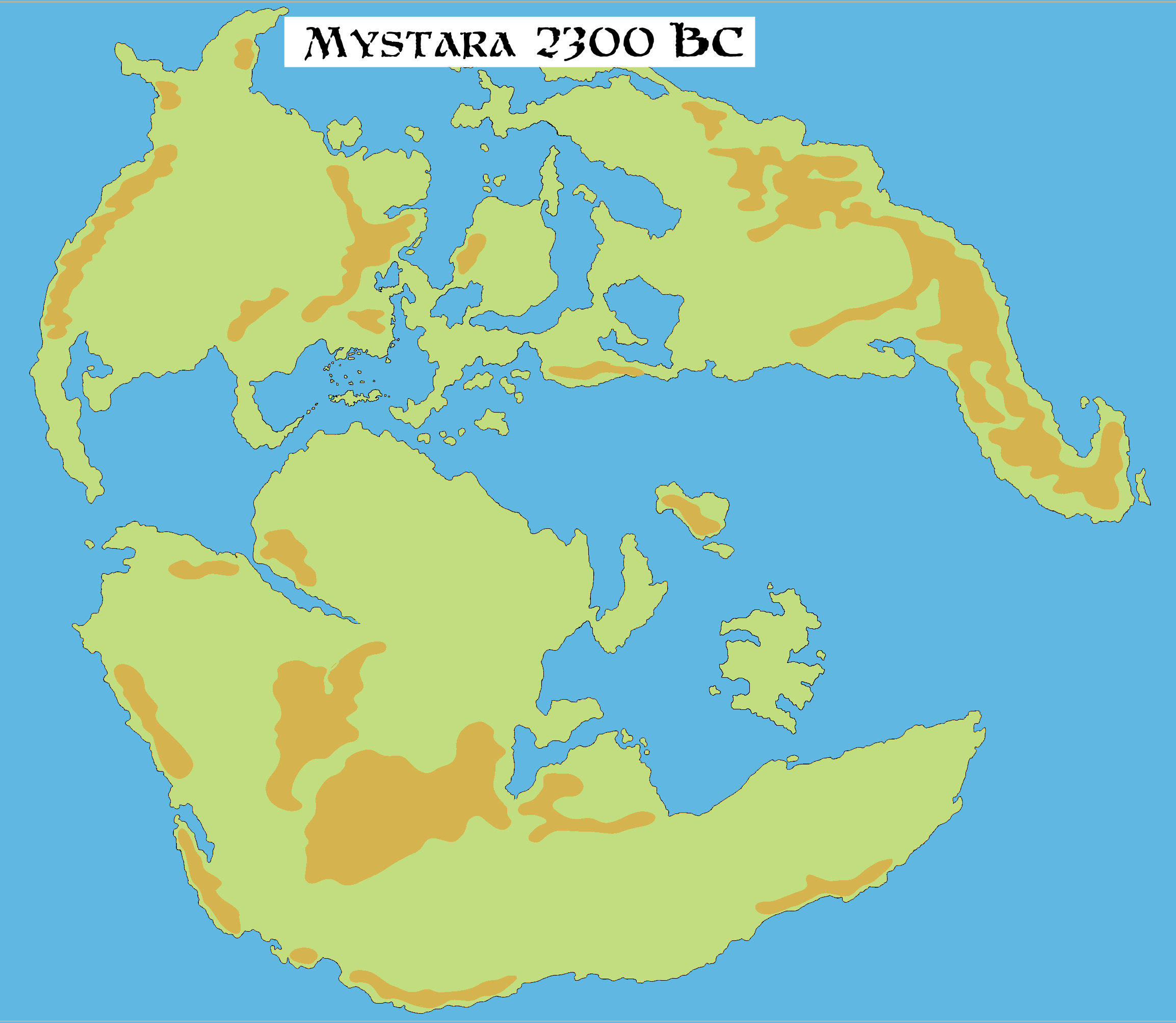 World map 2300 bc non hex gumiabroncs Gallery