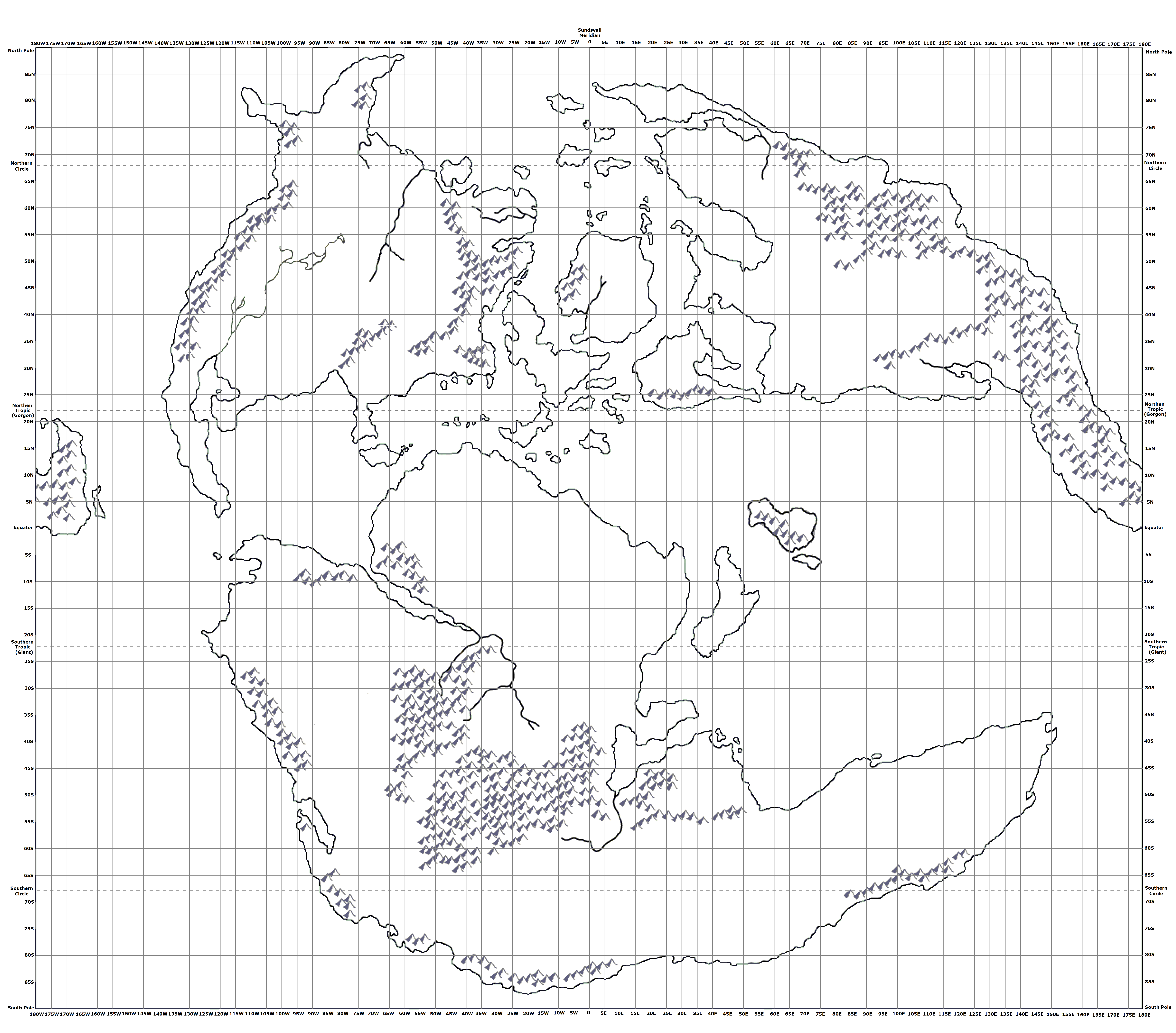 Mystaran maps outer world map with latitude and longitude gumiabroncs Images